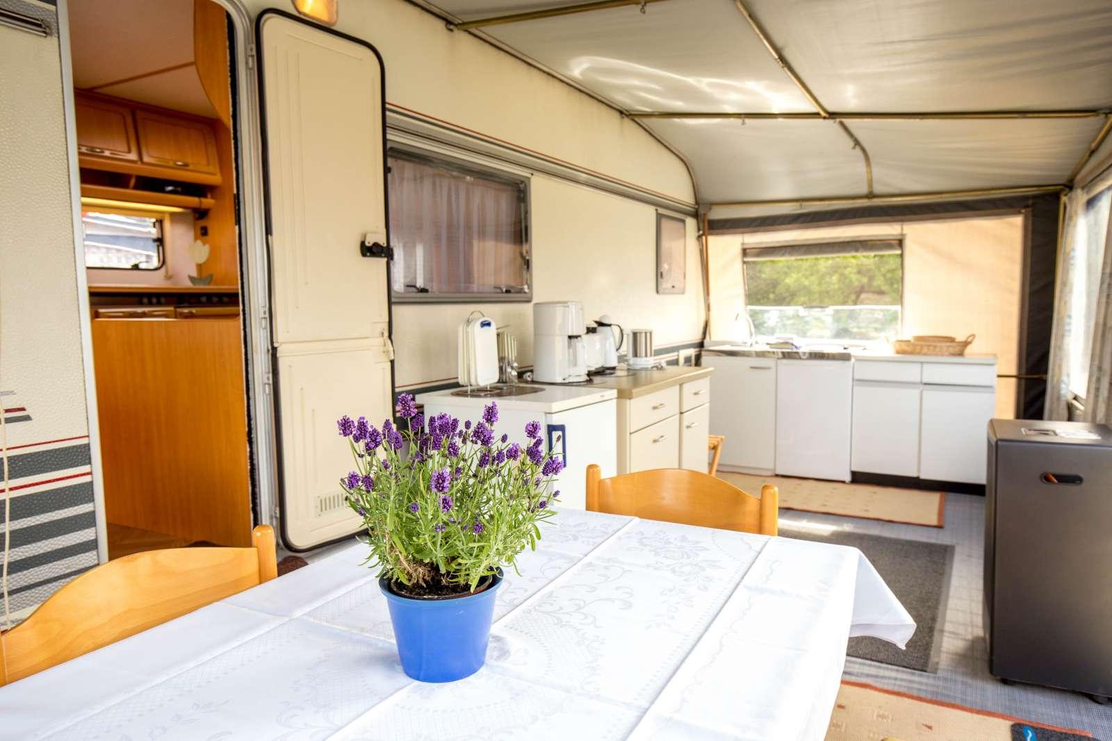 Wohnwagen Etagenbett Grundriss : Mietwohnwagen in der reihe zur ostsee camping flügger strand