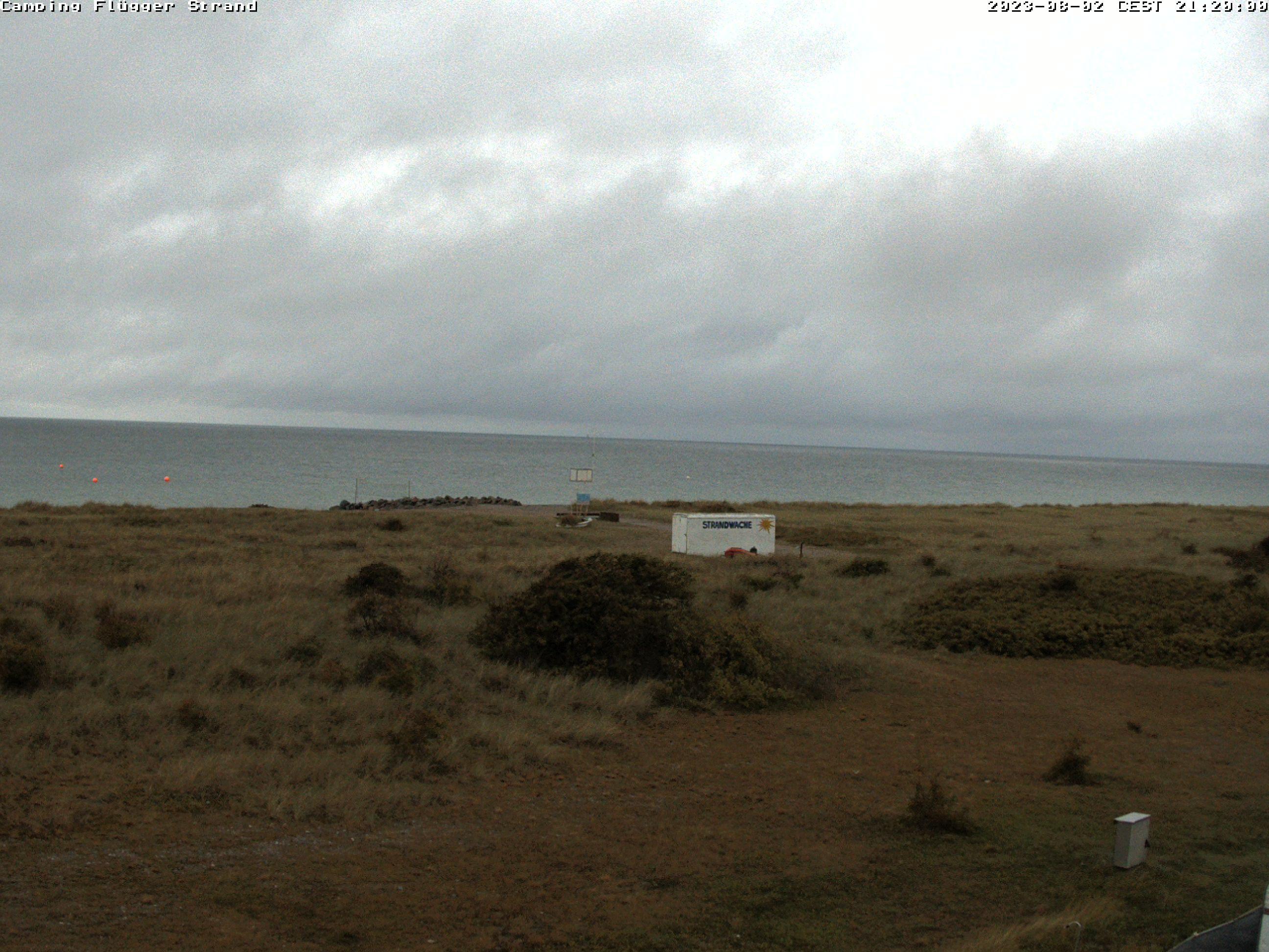 Live-Webcam - Flügger Strand